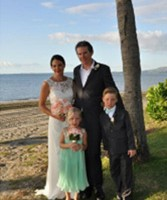 Jodie T…8th of May 2014 , Fiji destination wedding