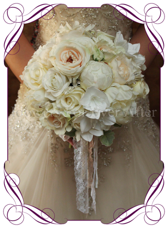 silk pastel bouquet