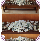 wedding hire melbourne, wedding decorations melbourne, white table decorations, bridal table