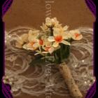 silk geraldton wax flower boutonierre button rustiv wedding australian wedding flowers