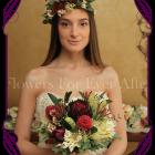 Silk Artificial native Flower crown halo