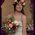 Silk Artificial tropical Flower crown halo