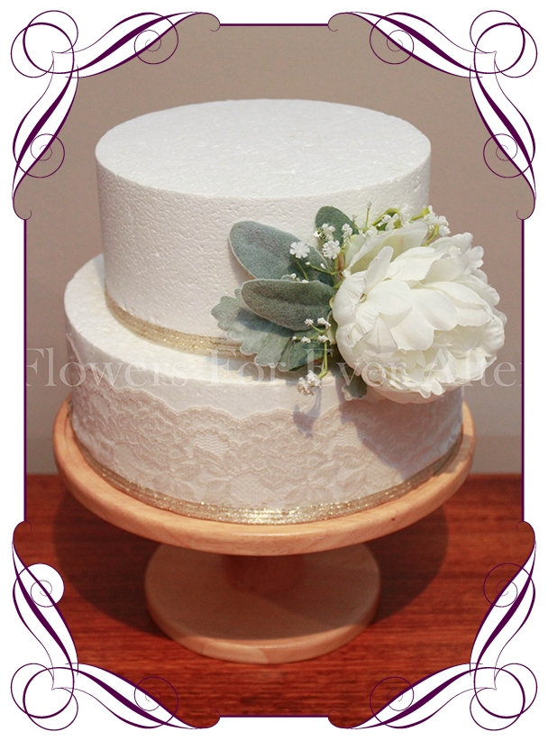 Wedding cake toppers product categories flowers for ever after angela peony cake flowers junglespirit Gallery