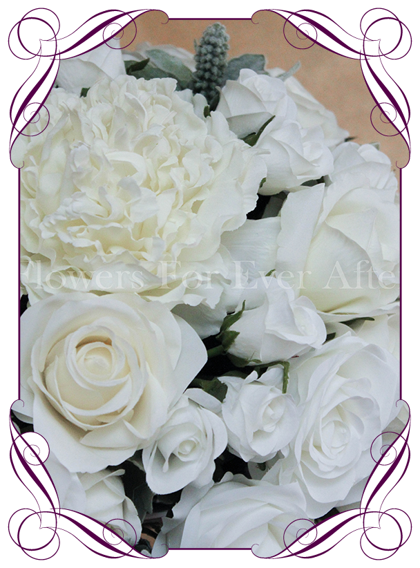 Hire white dome on silver stand flowers for ever after hire white dome on silver stand flowers for ever after artificial wedding flower designs mightylinksfo