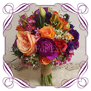 Vibrant Silk Bouquets