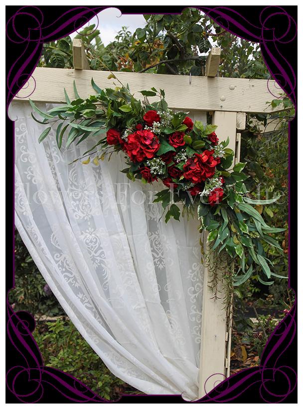 Australian Native Corner Arch Wedding Decoration