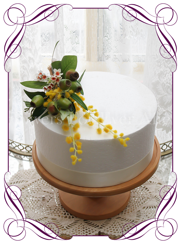 Gumnut Wattle Native Cake Decoration Flowers For Ever After