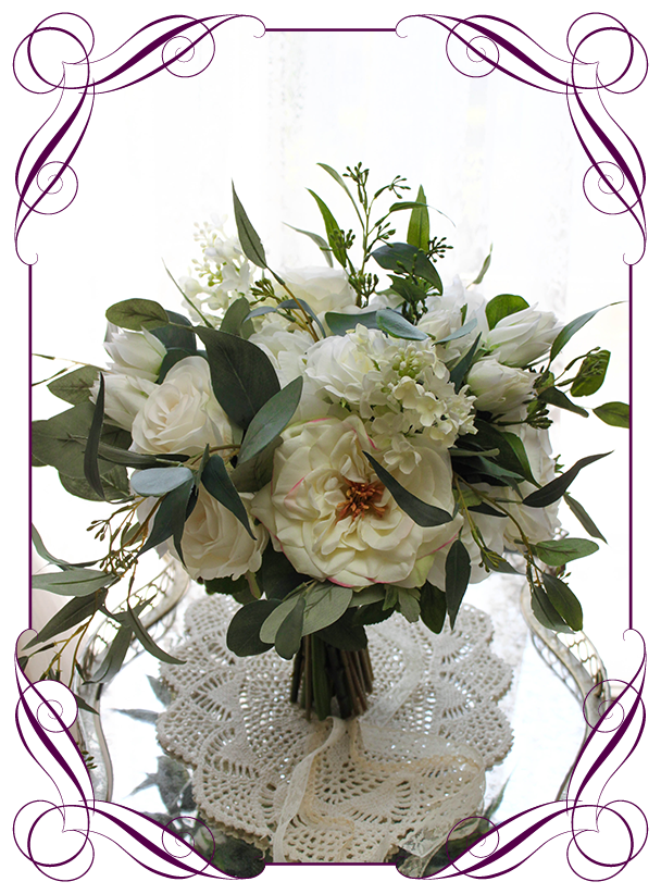 Georgia Ii Bridal Bouquet Gorgeous Artificial Bridal